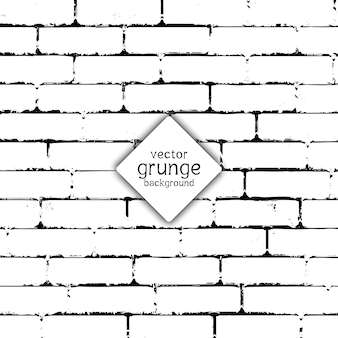 グランジスタイルのレンガの壁のテクスチャ