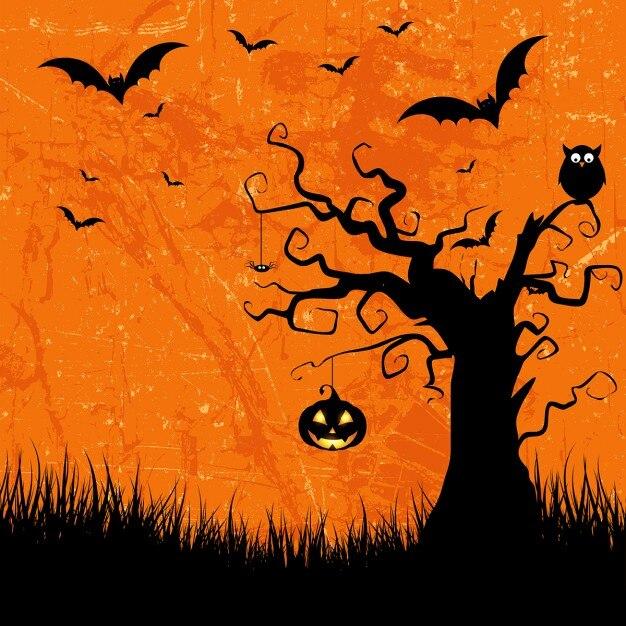 halloween vectors 21 700 free files in ai eps format rh freepik com Halloween Background Clip Art Halloween Background Fill