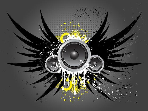 Grunge стиль музыки фон