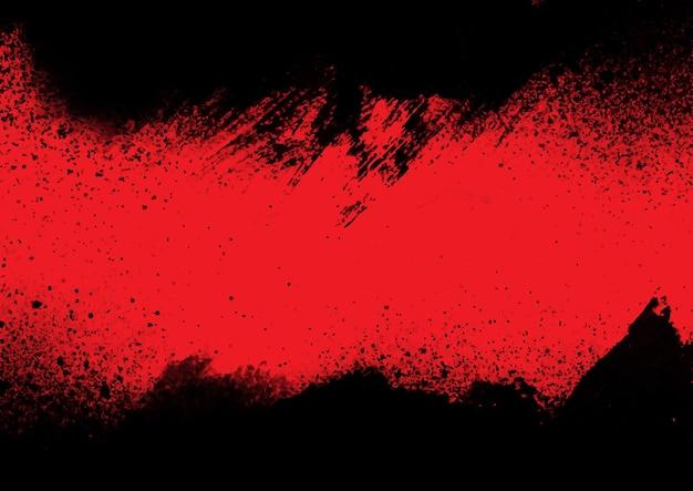 Grunge style splatter design background