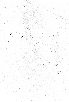 Grunge texture created from black aquarelle