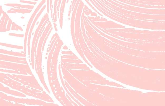 Grunge texture. distress pink rough trace. fetching background. noise dirty grunge texture. tempting artistic surface. vector illustration.