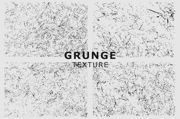 Grunge texture with grass background