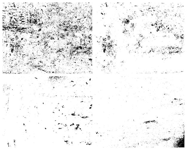 Grunge textures. distressed effect.