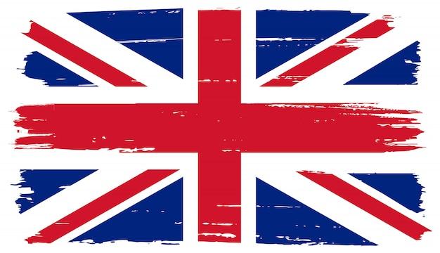 Флаг соединенного королевства гранж