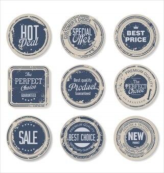 Grunge Vintage Stickers