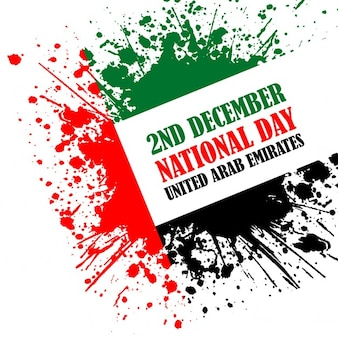 Изображение grunge стиль для празднования объединенные арабские эмираты национальный день