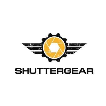 Логотип и логотип для автомобильной фотографии grunge