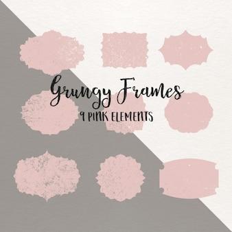 Grungy frames