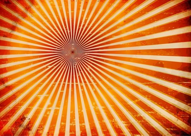 Grungy sun rays