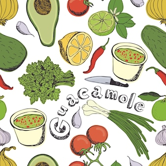 Guacamole background