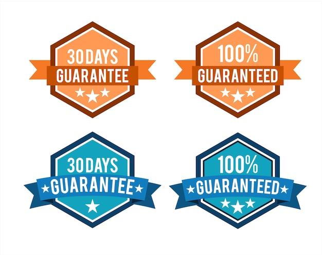 Guaranteed label badges