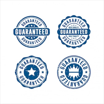 Guaranteed stamps design collection