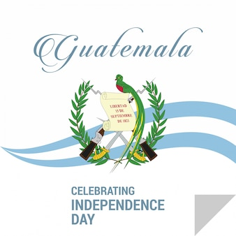 Guatemala independence day design