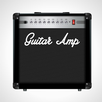 Guitar amplifier realistic design