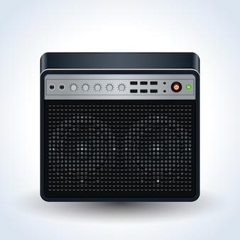 Guitar amplifier realistic
