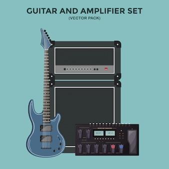 Guitar and Amplifier Set