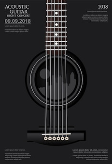 기타 콘서트 포스터