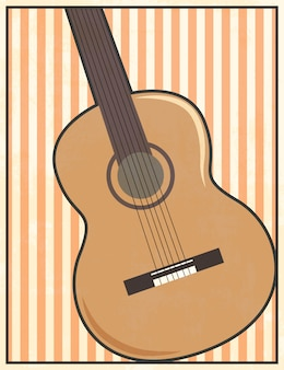 Guitar illustration
