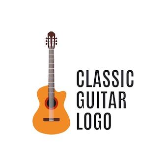 Guitar for music logo