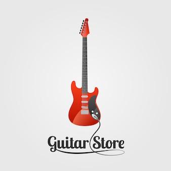 Guitar store emblem