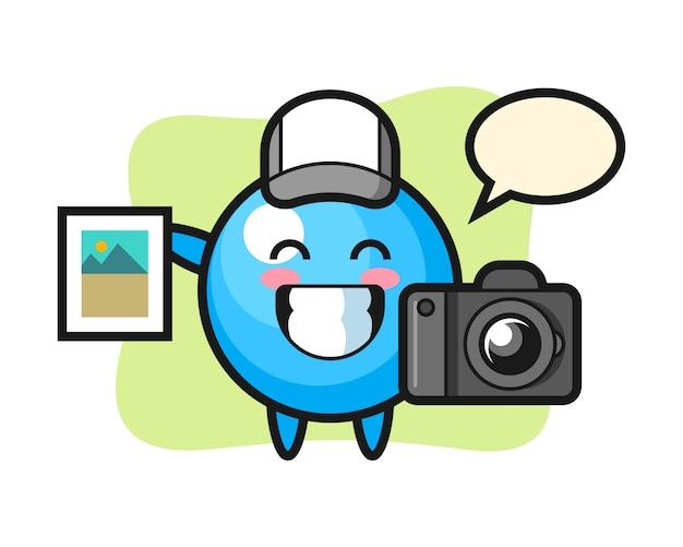 写真家としてのガムボール漫画