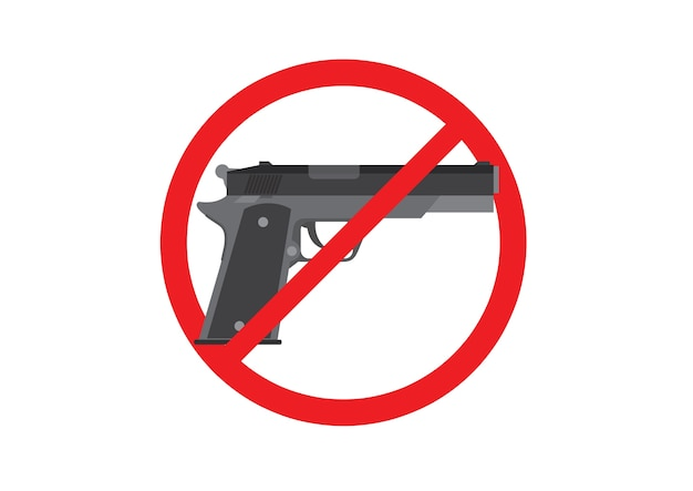 Gun prohibition signs
