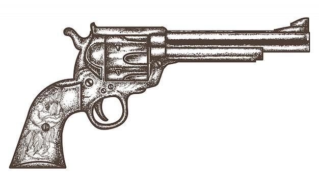 銃リボルバー