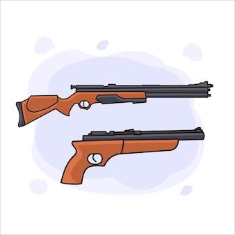 총 무기 그림