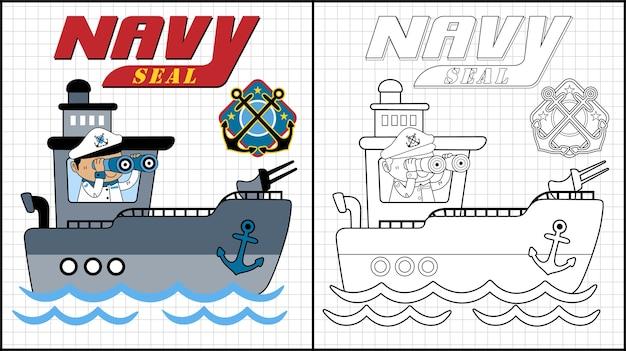 Gunboat patrol cartoon