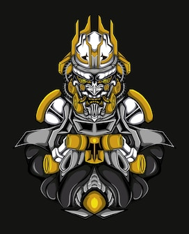Gundam barbatos vector illustration