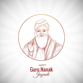 Guru nanak jayanti celebrates the birth of the first sikh guru background