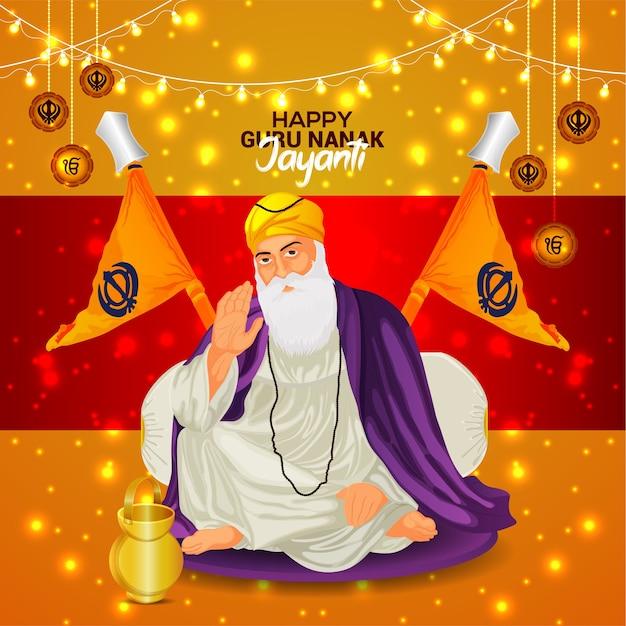 Guru nanak jayanti sikh first guru guru nanak dev ji birth celebration