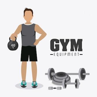 Gym design.