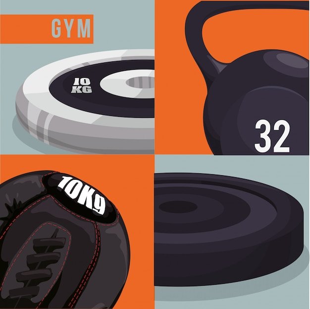 Gym and fitness design