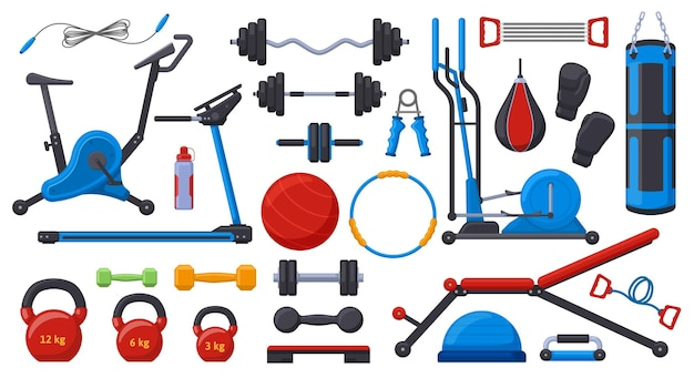 Тренажерный зал фитнес-оборудование