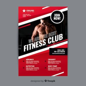 Gym flyer brochure
