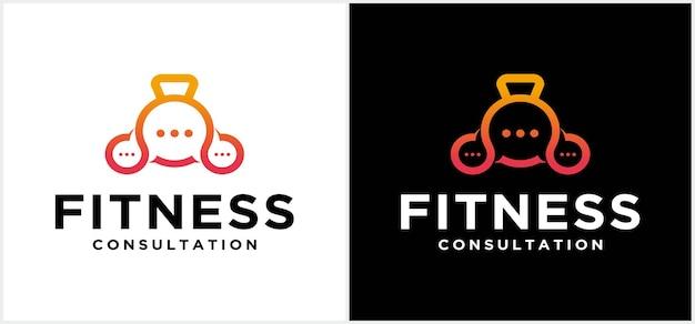 Логотип спортзала консультируйтесь с дизайном логотипа фитнеса фитнес логотип спортзал логотип векторной графики и графики