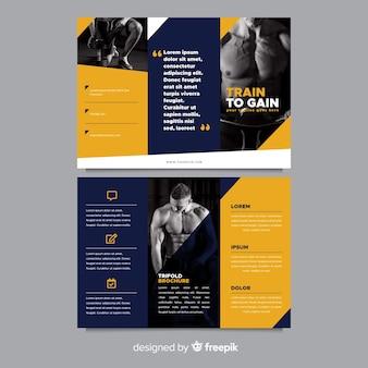 Gym trifold brochure