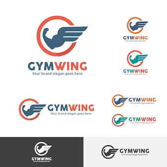 Gym wing logo