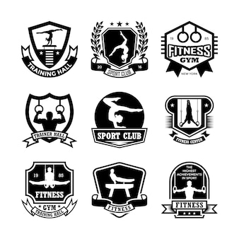 Gymnastics badges