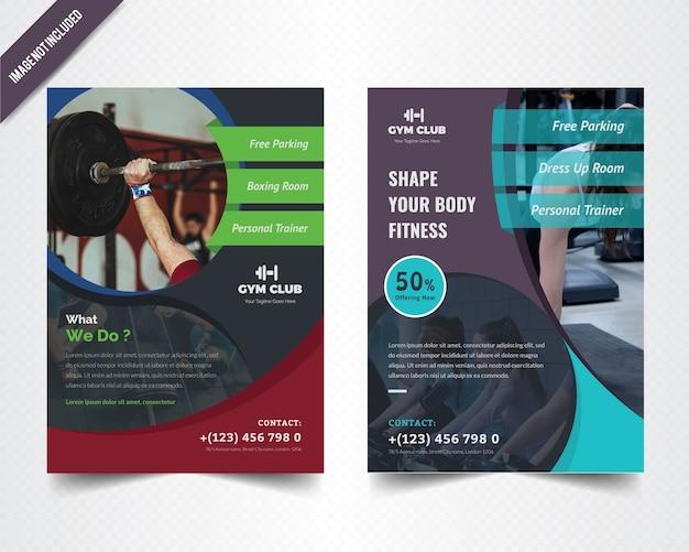 Gymnesium flyer design