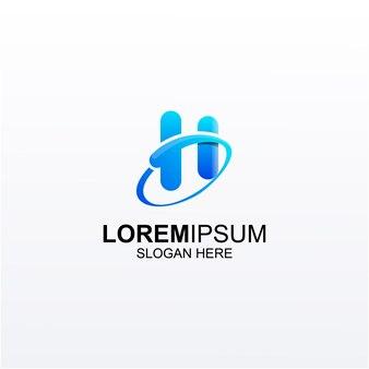 Дизайн логотипа h consulting