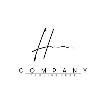 H логотип