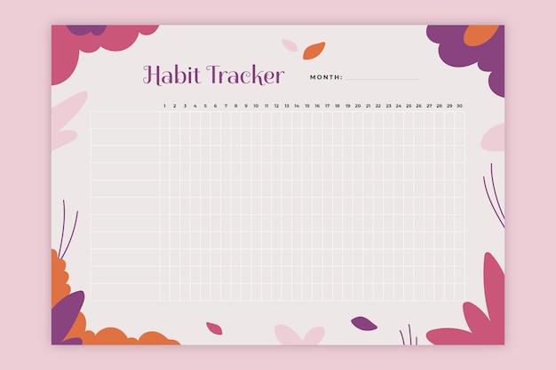 Modello di monitoraggio delle abitudini