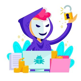 해커 활동 개념