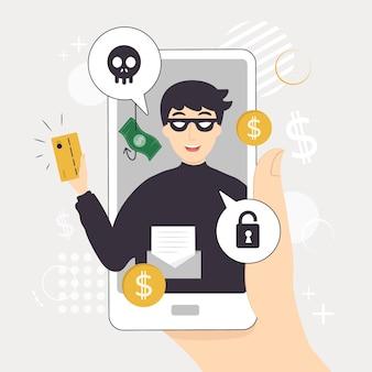 Hacker activity
