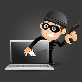 ハッカーと泥棒