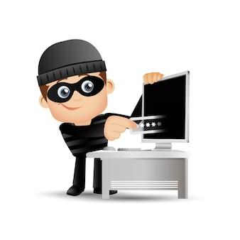 Хакер и вор