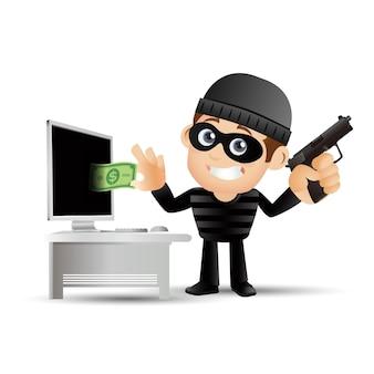 해커와 도둑